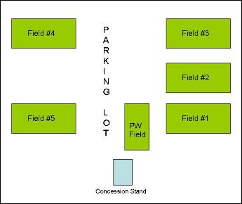 Practice Field Map